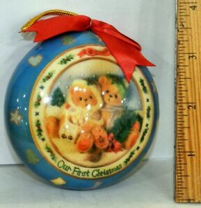 Cherished-Teddies-Our-First-Christmas-Ornament