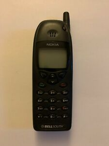 NOKIA-6190-Black-Cellular-Cell-Phone-Bell-South