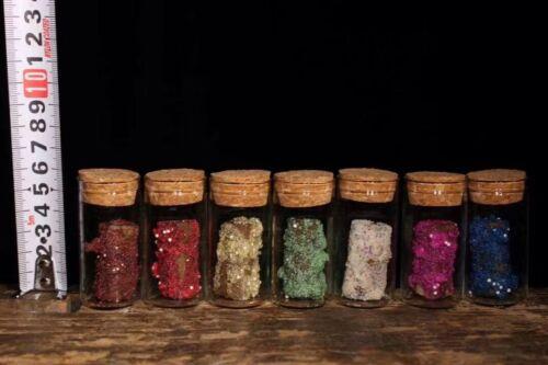 Chinese Antique Tibetan Buddhist seven-color relic