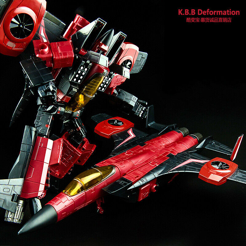 KBB Thrust G1 MP11NT  Transformer completare Vintage rosso 14' azione cifra Aircraft  l'ultimo