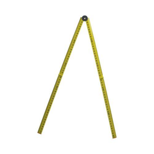 1 Metre Plastic Folding Ruler Rule Lightweight Measurting Measurement Rule