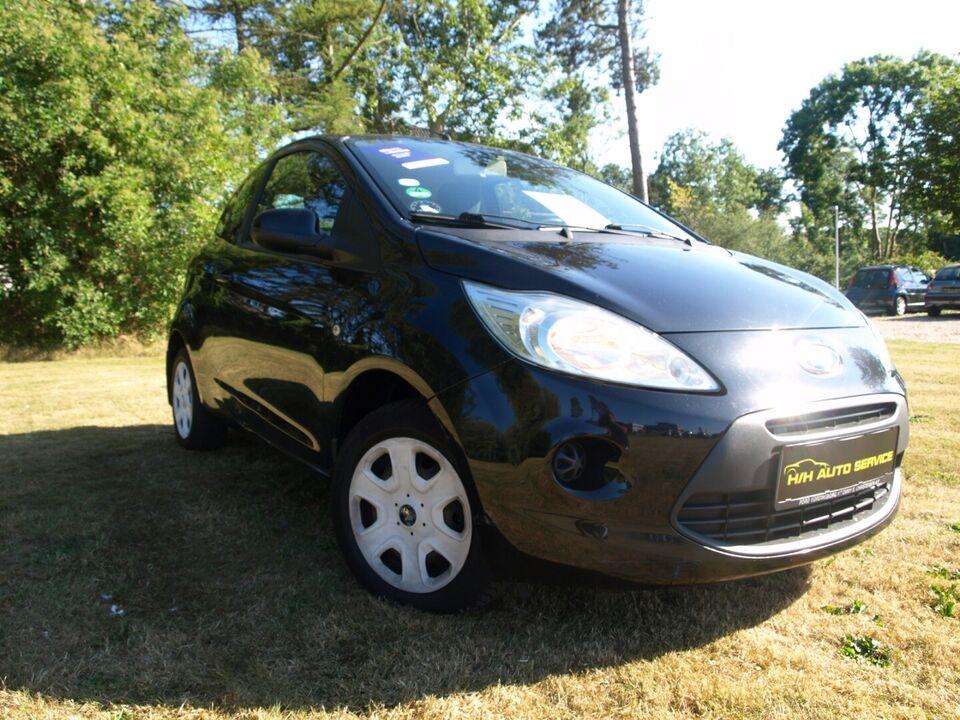 Ford Ka 1,2 SE Benzin modelår 2010 km 224000 Sortmetal