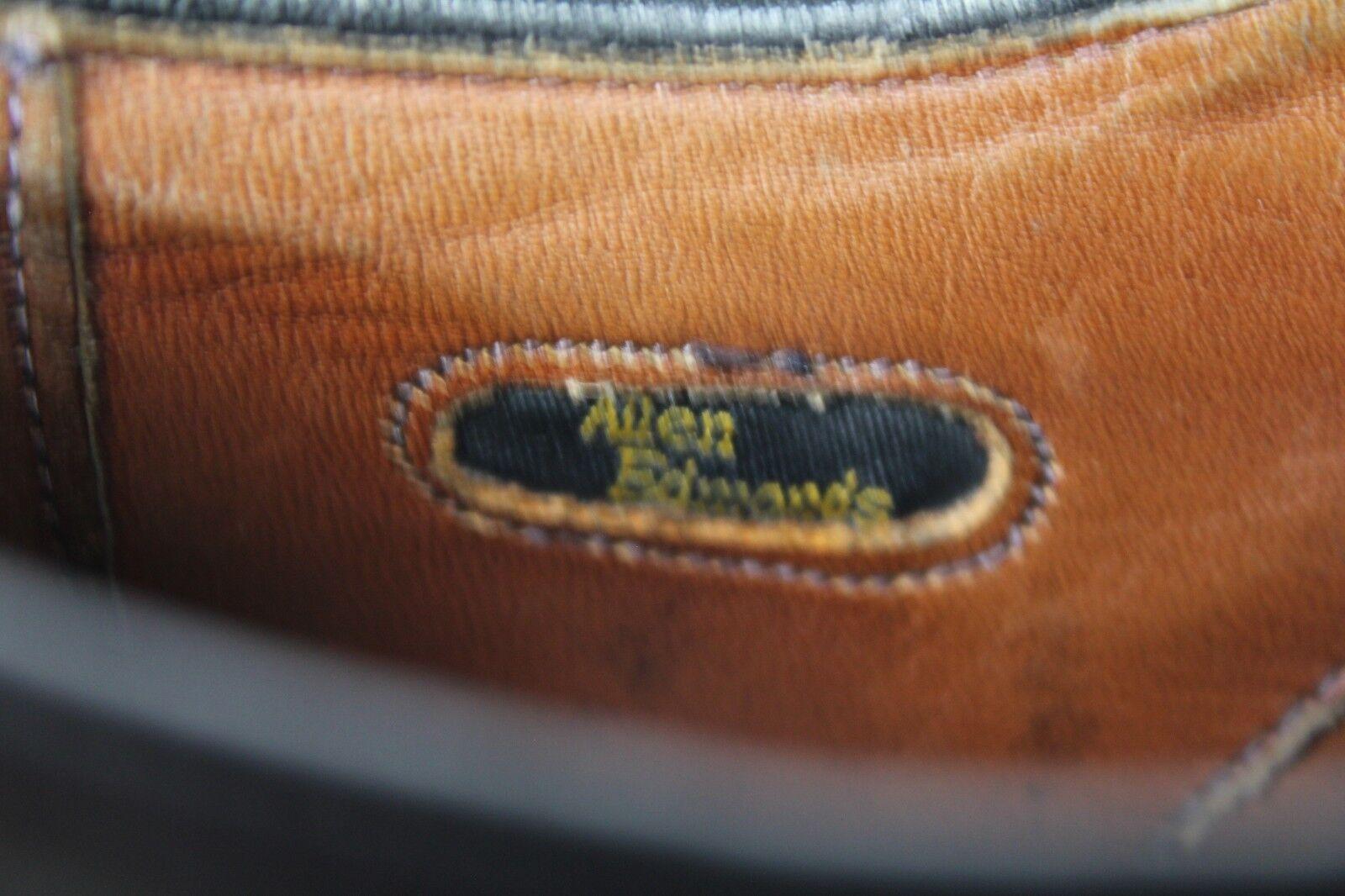Allen Edmonds Budapester Budapester Budapester   pieno VERA PELLE NERO eu:42, 5-us:9d made in  A d93d0d