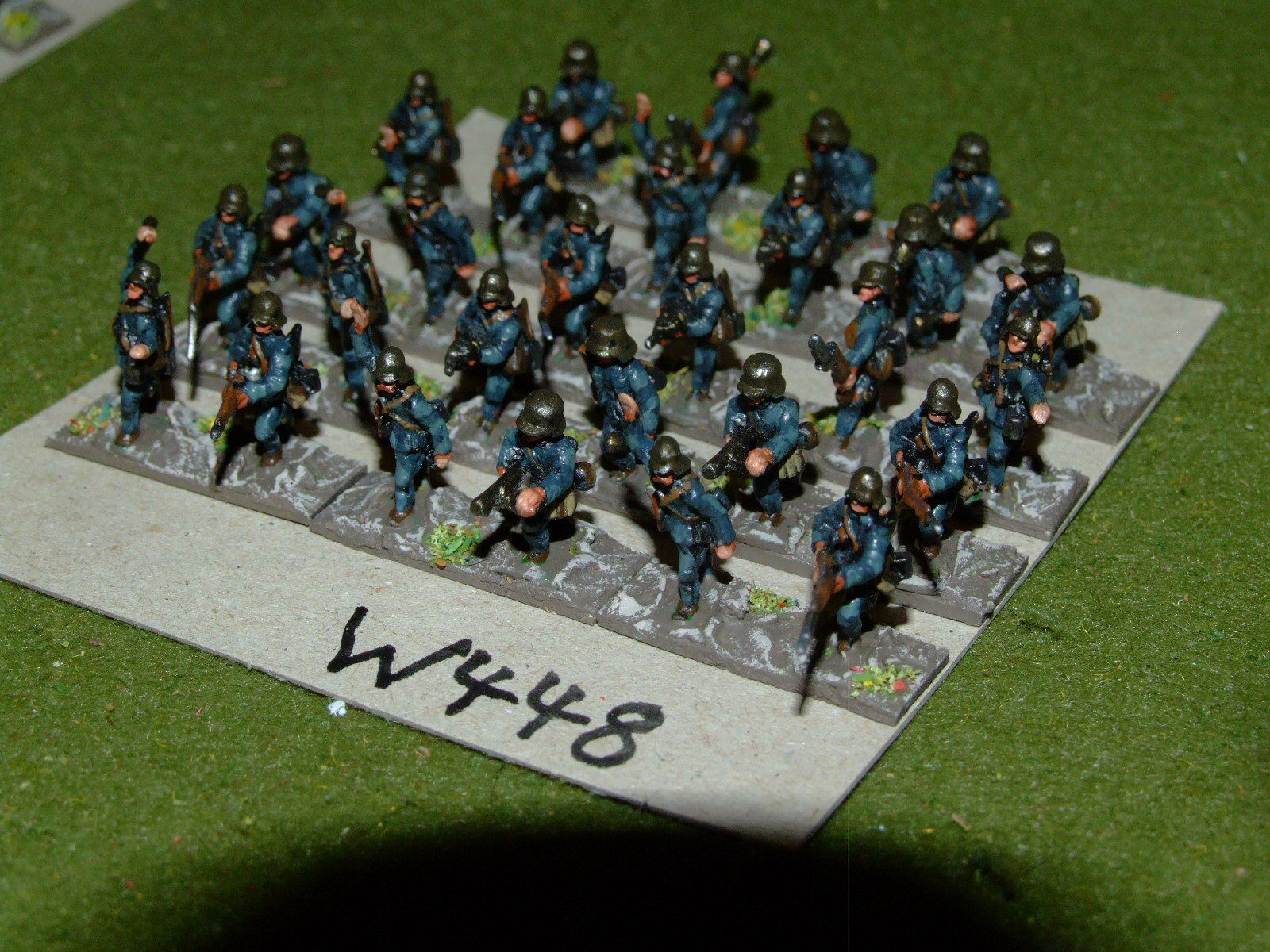 15mm WW1   austro hungarian - Storm Troopers 28 Infantry - inf (WWI448)