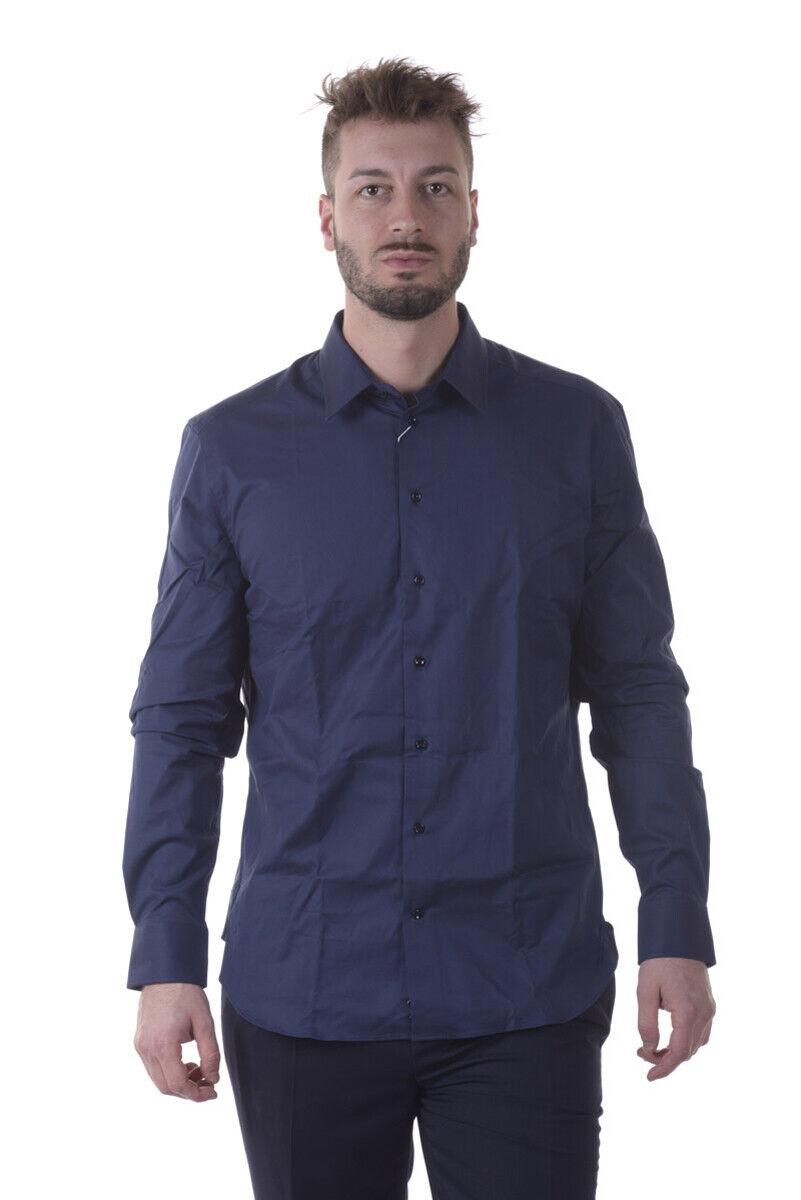Armani Collezioni Shirt SLIM FIT Man bluees UCCS5LUCC660 41 Sz.39 MAKE OFFER