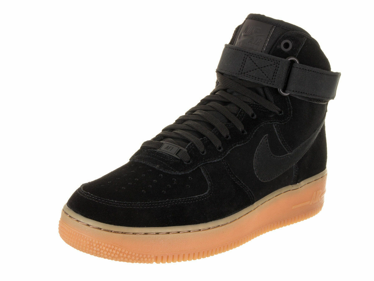Nike air force 1 hohe lv8 wildl - 10,5 / schwarz - braun - basketbal sz 10,5 - 180e6b