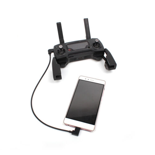 RC Cable Connect For iPhone iPad Tablet to Remote Controller For DJI Spark Mavic