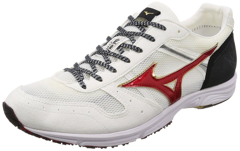 MIZUNO Running scarpe WAVE EMPEROR JAPAN 3 J1GA1875 bianca rosso US9.527.5cm
