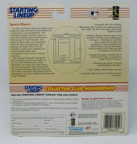 Ken Griffey Jr 1998 Edition Starting Lineup Figurine Kenner Comme neuf on Card