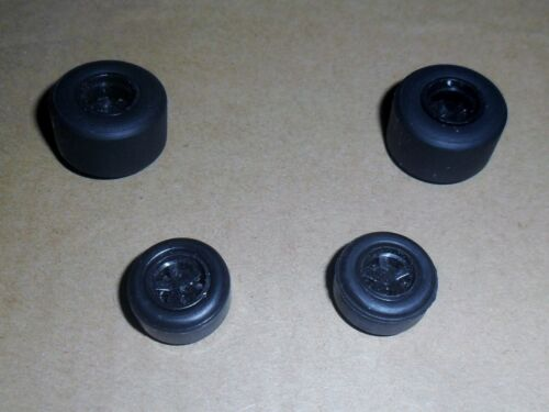 Scalextric brand new grippy small /& large slick car tyres tires wheels spares