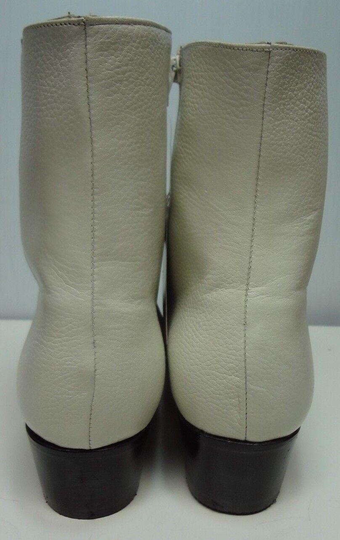 Uomo cowboy ankle stivali genuine Pelle western short ankle cowboy C257 9c2965