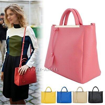 New Fashion Women Mini Handbag Faux Leather Tote Ladies Shoulder Cross Body Bag