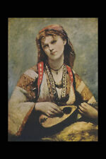 402012 The Gypsy Corot G Batta A4 Photo Print