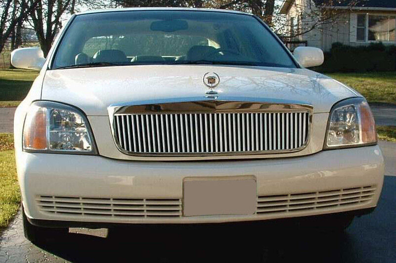 E&G CLIC VERTICAL GRILLE GRILL FITS 2000-2005 CADILLAC CADY ...