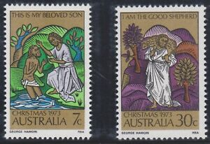 Australia-Post-Design-Set-MNH-Decimal-Christmas-1973