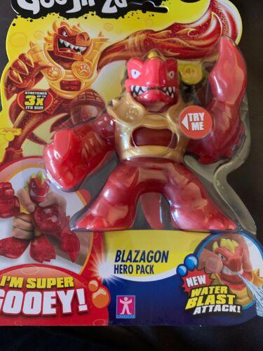 Heroes of Goo Jit Zu Blazagon Figure eau Blast Attack