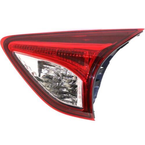 For CX-5 13-16 CAPA Passenger Side Inner Tail Light Red Lens