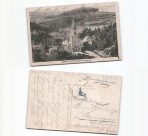 c2956-Ansichtskarte-Krautenwalde-1921-nach-Meiningen-Marke-ab
