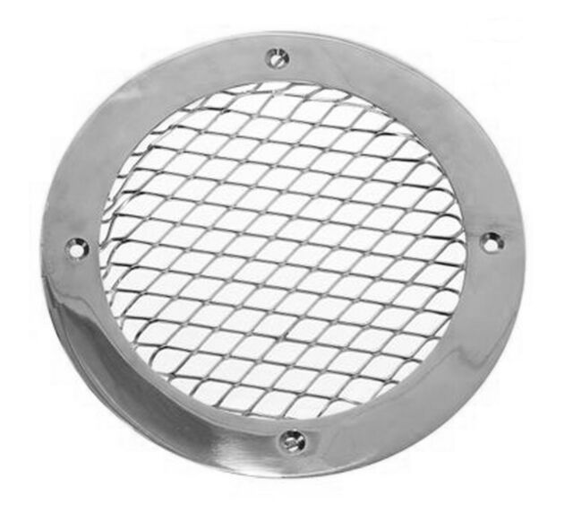 Vent cover grille type C1 polished brass 140mm x 105mm AV100