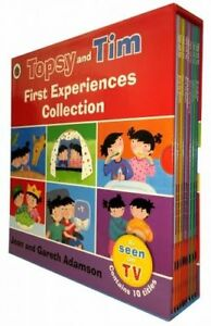 Topsy-and-Tim-First-Experiences-Collection-10-Books-Box-Set-Adamson-Jean-PB