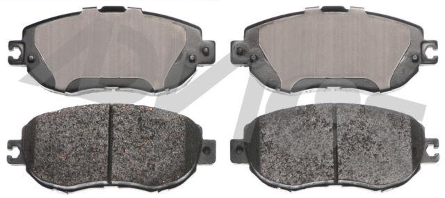 Disc Brake Pad Set-Total Solution Ceramic Brake Pads Rear fits 1993 Lexus LS400
