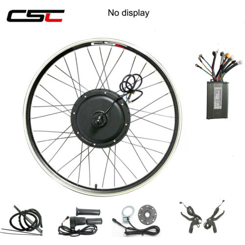 Electric Front Rear Wheel Conversion Kit 500W 1000W 1500W 48V Regeneration Ebike