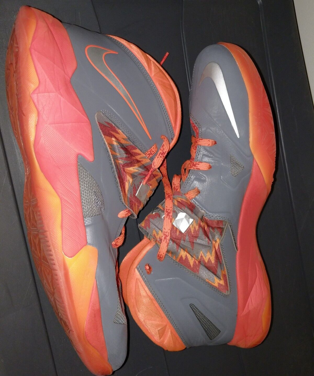 Nike Zoom Soldier Lebron James Total Team NBA Orange Comfortable New shoes for men and women, limited time discount