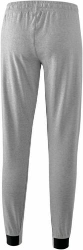Erima Training Essential Sweathose Jogginghose Damen hellgrau melange schwarz