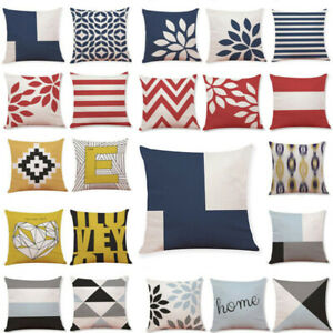 Cotton-Geometric-Pillow-Case-Waist-Throw-Cushion-Cover-Home-Sofa-Decor-Latest