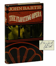The Floating Opera by JOHN BARTH ~ SIGNED First UK Edition 1968 ~ 1st Book