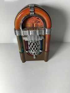 Vintage-60s-TRANSISTOR-RADIO-Mini-JUKE-BOX-WINDSOR-JB380