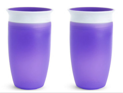 1 or 2 pack Munchkin Miracle 360 Toddler Color Sippy Cups 10 Oz Spill Proof