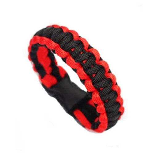 Survival Bracelet Paracord Gear Flint Scraper Kits Fashion Nr