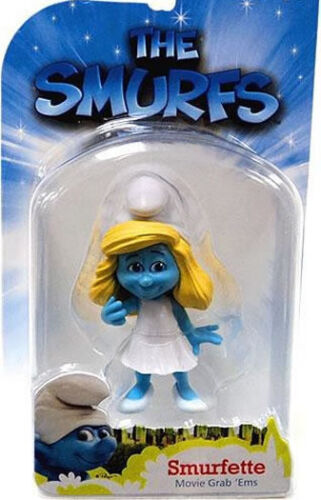 SMURFETTE by Flair Jakks Pacific SMURF from 2009 aprx 7cm