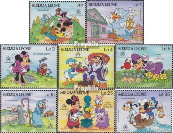 complete Issue Never Hinge Sierra Sierra Leone Leone Block289 Unmounted Mint