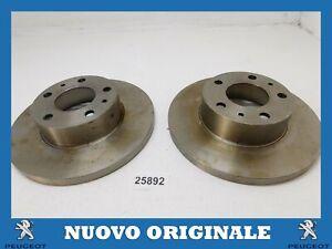 Pair Front Brake Discs Pair Of 280MM PEUGEOT Boxer Shorts
