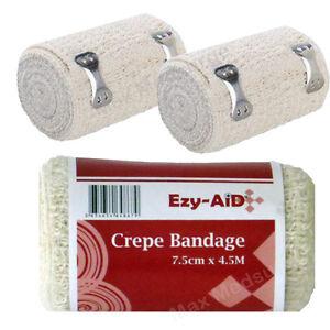 12-Pack-Ezy-Aid-Premium-CREPE-Bandage-7-5cm-x-4-5M-CE-Marked