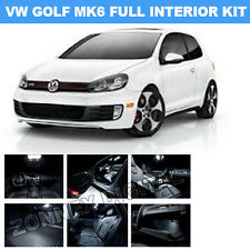 Vw Golf Mk6 2008 2014 Interior Xenon White Light Bulbs Led Kit