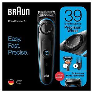 Braun BT3240 da uomo tosatrici Barba Trimmer & Rasoio Fusion, 39 impostazioni di lunghezza