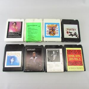Lot of 8 TRACK TAPES rock Roll Country Lot 4