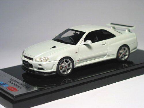 Kyosho Original 1 43 NISSAN Skyline GT-R V-Spec II BNR34 Blanc