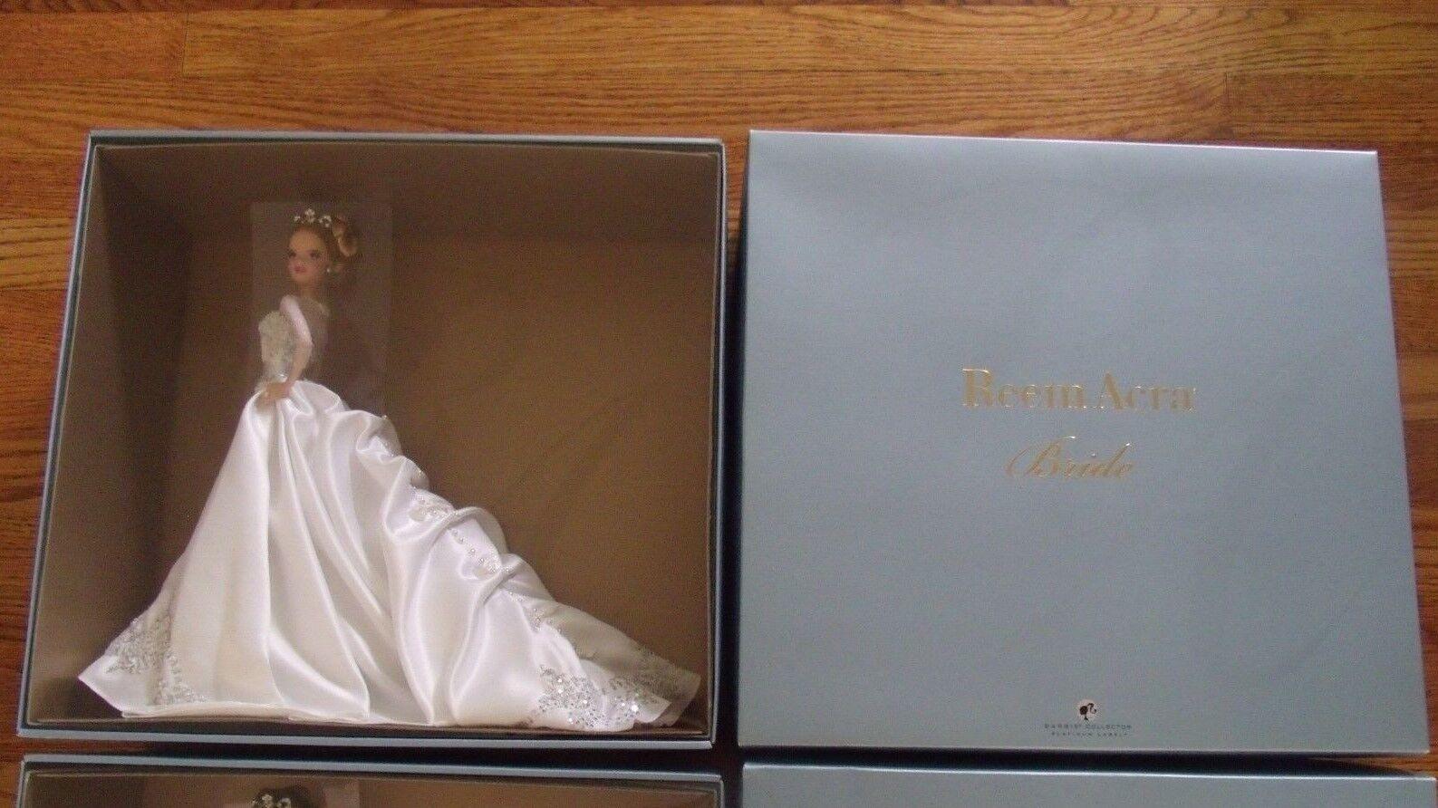 Reem Acra Barbie Rubia Platinum Label Silkstone Moda Modelo 2007 Rara