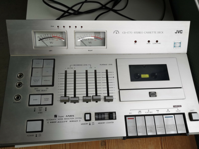 Båndoptager, JVC, CD - 1770 , Defekt, JVC…
