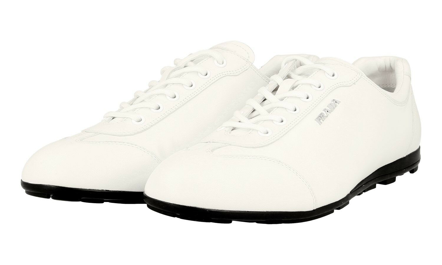 AUTHENTIC LUXURY PRADA baskets chaussures 3E4900 3E4900 3E4900 blanc NEW US 9.5 EU 39,5 40 UK 6.5 895dfe