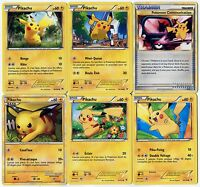 Carte Pokemon Lot De 6 Cartes Pikachu Lot N° Pika6 54