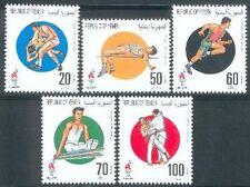 Yemen Republic 1996 ** Mi.162/66 Olympische Spiele Judo