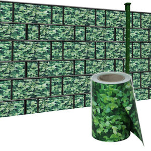 35m Pvc Sichtschutz Streifen Doppelstabmatten Sichtschutzfolie Zaun