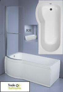 Image Is Loading Trojan Concert Shower Bath Compact Space Saving Bath