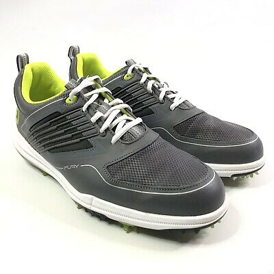 Footjoy Mens Fury Ortholite Golf Shoes Size 10 5 Gray White 51102 Ebay