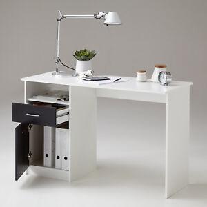schreibtisch jackson computertisch b rotisch tisch in wei. Black Bedroom Furniture Sets. Home Design Ideas